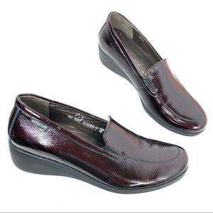 Mephisto Burgundy Loafer Size 7